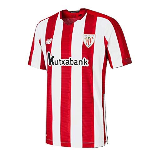 New Balance Athletic Club Camiseta Replica MC 1º Jr Home ACB para Niño, Niños, Rojo, SB