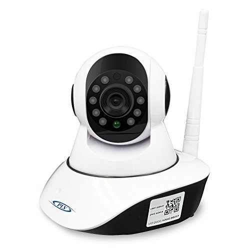 Wifi Wireless Home Security Camera-PLV 720P HD Robot IP Camera for Baby Monitor,Nanny Cam, Pet Camera Indoor Use Pan Tilt,Day/Night Vision,2 Way Audio,Motion Detection,Free APP(SD-card not Included)