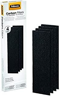 Fellowes AeraMax 90/100 Air Purifier Carbon Filters, Black, Pack of 4 (9324001)