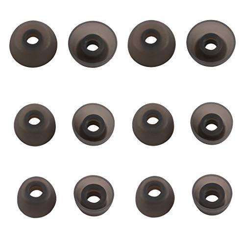 Rayker Ersatz-Ohrstöpsel für Galaxy Buds SM-R170 Kopfhörer, weiche Silikon-Ohrstöpselspitzen, passt in die Hülle, 6 Paar, S/M/L Größe, passend für Galaxy Buds