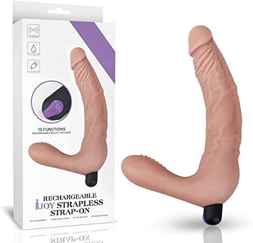 MissJessiCCa 9 Speed Víbráţors Strapless Strapon Strap On Lesbian Double Penetration Séxy Toysfor Woman Ðildǒ Womèn Lesbiǎn Còuplè Perfect Gift