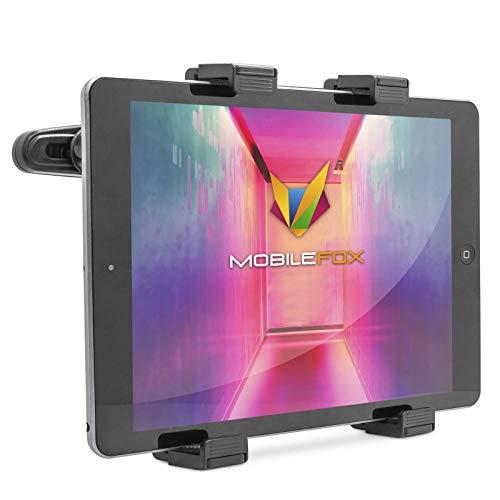 Mobilefox ® 360°-support d'appuie-tête de voiture support de siège headrest support de tablette universel pour tablette pC portablen support pour lecteur dVD portable/lecteur multimédia
