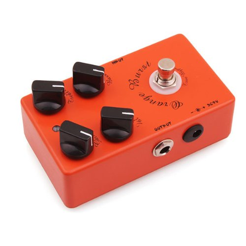 Caline CP-18 Orange Burst Overdrive Guitar Effect Pedal