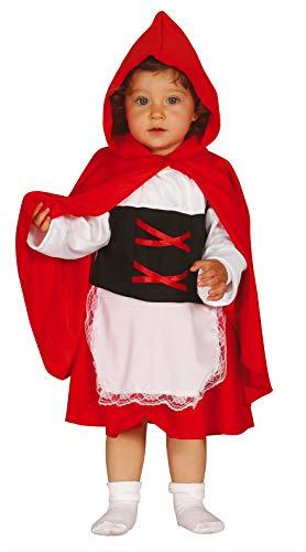 FIESTAS GUIRCA Disfraz Caperucita Rojo niña Talla 12-24 años