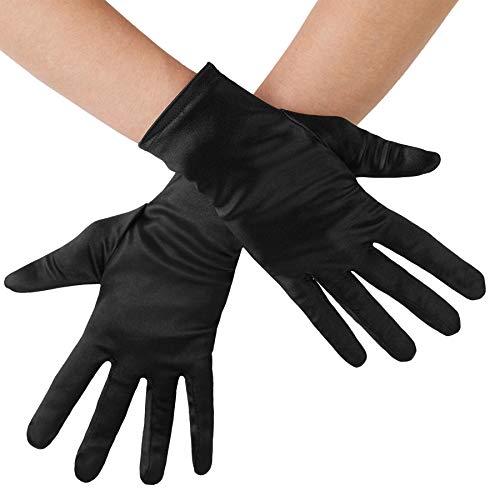 Damen Satin Handschuhe
