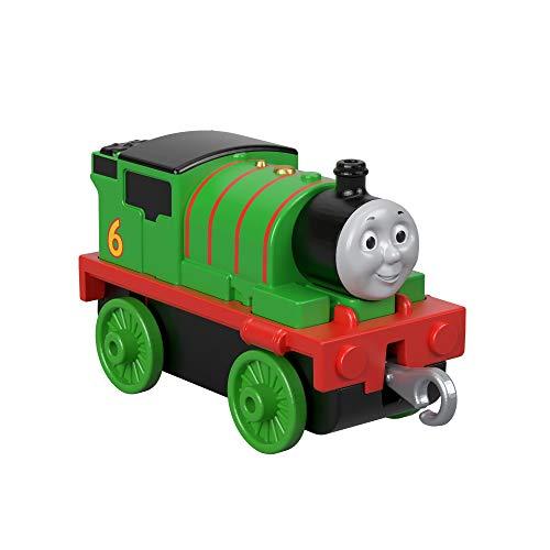 Thomas & Friends Il Trenino Thomas Percy, Locomotiva a Ruota Libera, Giocattolo per Bambini 3+ Anni, FXX03