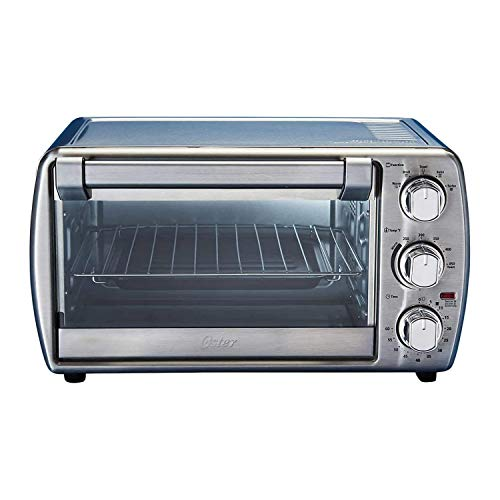 Oster Countertop Oven with Convection, Stainless Steel Tssttvcg05