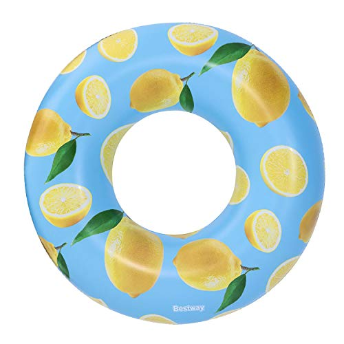Bestway Anillo de Goma perfumado con Aroma a limón, Tubo de natación Unisex (BW36229)