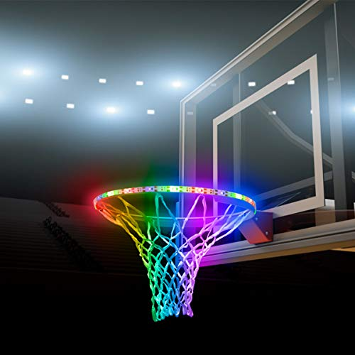 Cheapest Price! WETONG LED Basketball Hoop Lights - Basketball Rim LED Light Swish - Perfect for Pla...