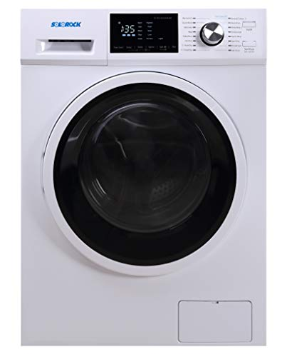 "SoloRock 24"" 2.7 cb.ft. High Capacity Ventless Washer Dryer Combo White"