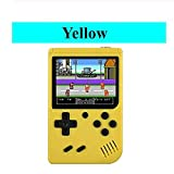 <span class='highlight'><span class='highlight'>Ocamo</span></span> Video Game Console 8 Bit Retro Pocket Handheld Game Player mini Nostalgic game console Built-in 168 Classic Games yellow