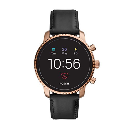 Fossil Men's Touchscreen Connected Smartwatch with Leather...