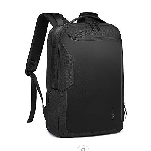 ZHD&CC Laptop Commuter Mochilas Polyester Canvas Plain Fashion for Business Office para Colapsas Y Escuelas para Viajes A Prueba De Agua A Prueba De Choques con USB