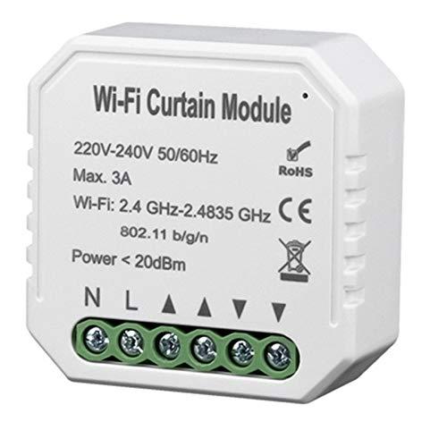 Facibom Tuya Smart Life MóDulo de Interruptor de Cortina WiFi para Persiana...
