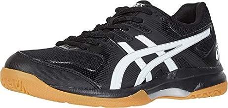 ASICS Women's Gel-Rocket 9 Volleyball Shoes, 8, Black/White