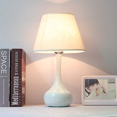 Eenvoudig retro bedlampje Aooshine eenvoudige tafellamp stof rond bedlampje General E27 mond prachtige en mooie decoratieve lamp
