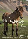 Mein ISLANDPFERDE Planer - Geburtstage, Hof-Feste, Turniere (Tischkalender 2020 DIN A5 hoch)