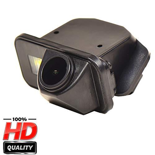 HD Caméra de Recul dans la plaque d'immatriculation Caméra vue arrière de voiture Imperméable IP69K Vision Nocturne pour Toyota Corolla Auris Avensis T25 T27