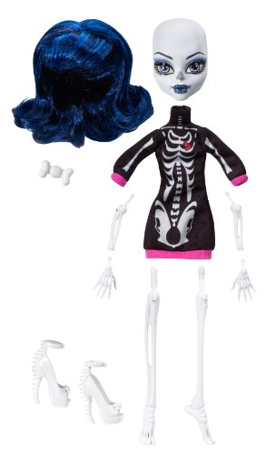 Monster High - W9177 - Poupée - Créa Terreur - Squelette