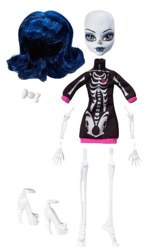 Monster High - W9177 - Poupée - Créa Terreur - Squelette