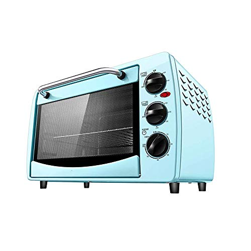 JYKXA Piccolo Forno elettrico for uso domestico di cottura, indipendente di temperatura Control Design, di categoria alimentare, facile da pulire Liner, ispessito sicurezza portello di vetro a prova d