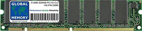 GLOBAL MEMORY 512MB SDRAM PC133 133MHz 168-PIN DIMM Memoria RAM para Roland...