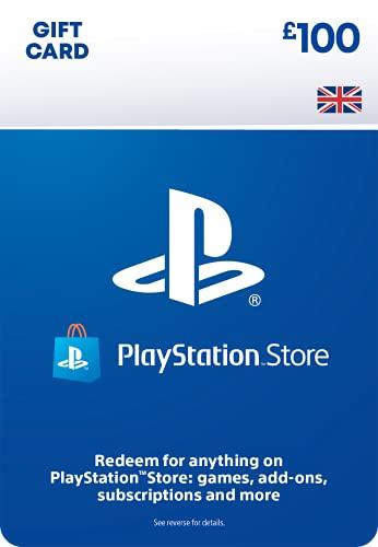 PlayStation PSN Card 100 GBP Wallet Top Up | PS5/PS4/PS3 | PSN Download...