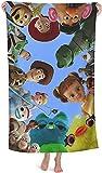 Toallas de playa de Toy Story de secado rápido, toalla de viaje suave y absorbente,...