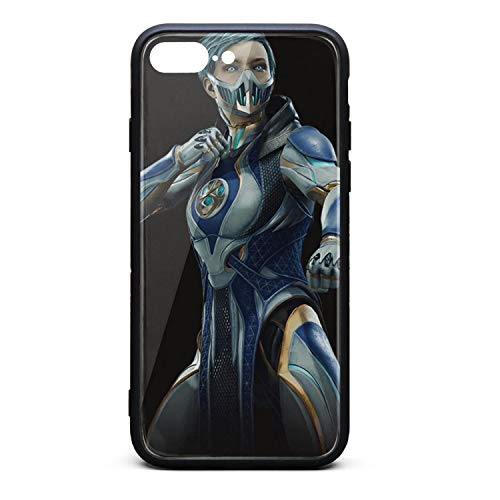 iPhone 7/8 Plus Case Mortal-Kombat-11-Frost-character- Slim Anti-Scratch Shockproof Protective Case Protection Flexible TPU Bumper Cover Phone Case for iPhone 7/8 Case [5.5 Inch]