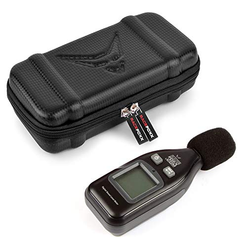 Digitales dB – Messgerät, Lautstärken Messung, Pegel, Schallgerät, Dezibel Messer, Schallpegel, Motorradauspuff, Auspuff, Lautstärke, RACEFOXX