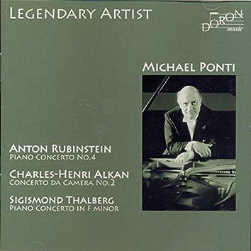 Michael Ponti Plays Rubinstein, Alkan & Thalberg