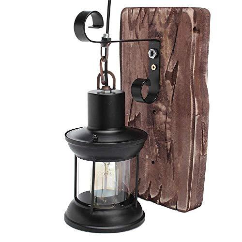 Verlichting hout metaal schilderij kleur wandlamp binnen verschillende perspectieven hoge overdracht PP Shades industrie Vintage Retro hout, ijzer, glas licht in binnenplaats