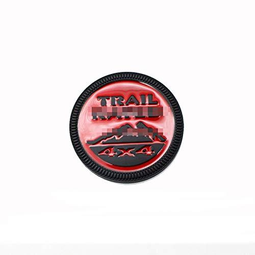 Emblema para carrocería de la insignia del coche, Etiqueta engomada del cuerpo del metal, estilo de la insignia del Trail Rated 4X4, para changan Seat la decoración de la sintonización del logotipo