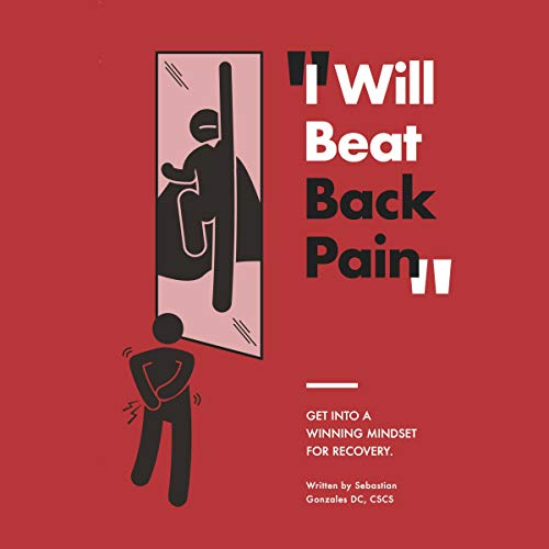 I Will Beat Back Pain audiobook cover art