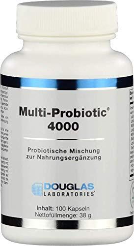 Douglas Laboratories - Multi-Probiotic 4000 - Nahrungsergänzungsmittel mit über 4 Milliarden Probiotischen Leitkeimen - 100 Kapseln