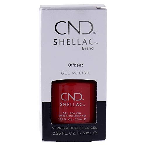 CND Shellac, Gel de manicura y pedicura (Tono Offbeat Boho Spirit) - 7.3 ml.