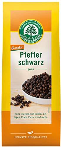 Lebensbaum Bio Schwarzer Pfeffer, ganz (6 x 50 gr)