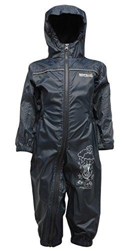 Regatta Puddle III Childrens Overalls Blue 2014 Coat Blue 36 48 moiss