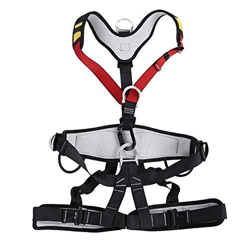Cinturones de Seguridad para Hombre y Mujer, Arnés de Seguridad de Escalada...