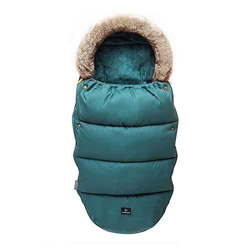 Zachte warme babyslaapzak, kinderwagen universele winterslaapzak, dons- en winddicht om warm te blijven-10 ° C tot 15 ° C, voor peuters van 3 tot 18 maanden