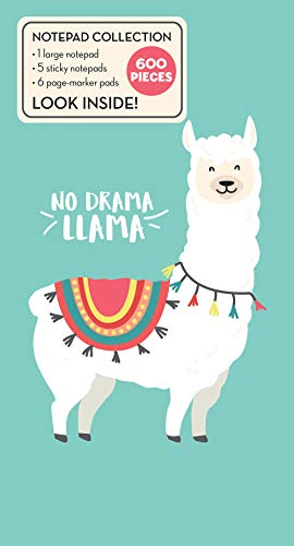 Book of Sticky Notes: Notepad Collection - No Drama Llama