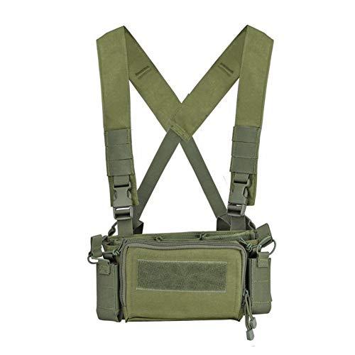 KODENOR Chaleco de ejército táctico Militar 5.56 7.62 Bolso de Almacenamiento de la Bolsa de la Revista de la Pistola de Rifle para CS Caza al Aire Libre Shooting Paintball Guerra Juego
