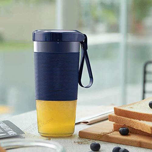 WSY Entsafter Maschinen, Saftschale tragbaren DIY Entsafter verfügt über Saftpresse Mini wiederaufladbare Gemüse Orangensaft Tasse Smart Geeignet für zu Hause