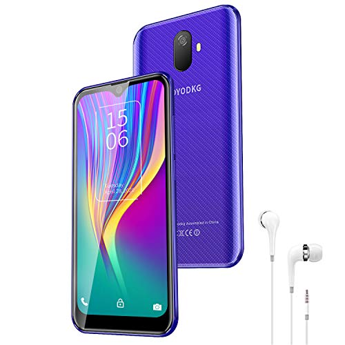 Cellulari e Smartphone 4G LTE Wifi Androide 9.0 {Google GMS Certificazione} 3GB RAM 32GB ROM Telefono Cellulare 5,5 Pollice 8MP Smartphone Offerta Del Giorno Smartphone 3400mAh (Blu)