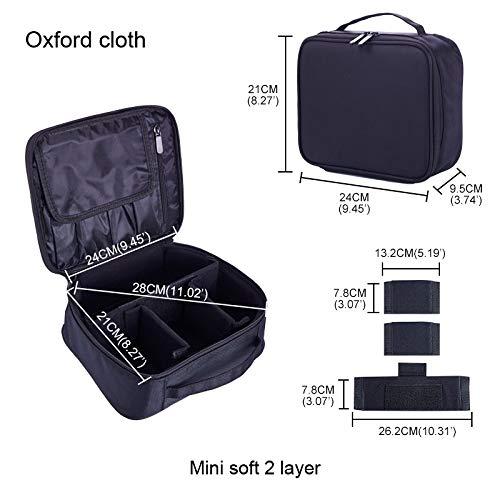 Trousse De Voyage Mode bourse portable Sac Voyage Sac de toilette cosmétique de beauté Pouch Kit maquillage Make Up Pouch Case (Color : 9)