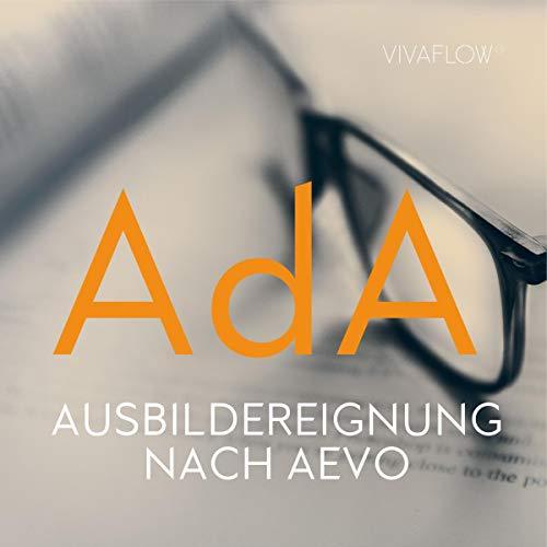 AdA - Prüfungsvorbereitung zur Ausbildereignung nach AEVO cover art