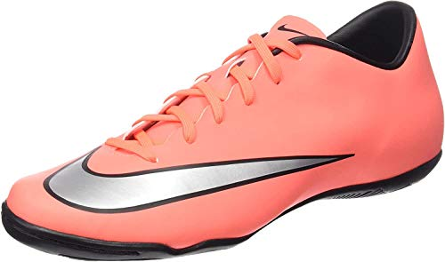 Nike Mercurial Victory V Ic Mens Football Trainers 651635 Sneakers Shoes (UK 9 US 10 EU 44, White Volt Hyper Pink Black 170)