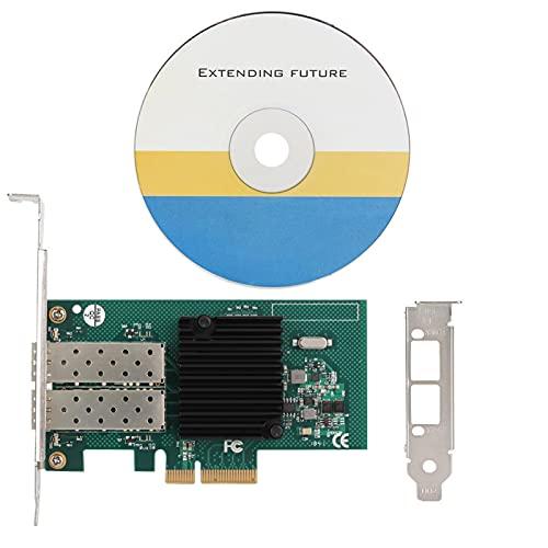 Mavis Laven Puertos LAN de Red Gigabit Tarjeta adaptadora de Servidor de Fibra Ethernet Adaptador de Interfaz de Red expreso para servidores Adaptador de Almacenamiento de sobremesa