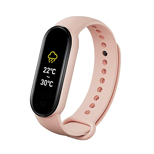 Reloj inteligente con pulsera deportiva Pantalla TFT de 0.96 pulgadas BT4.0 Rastreador de ejercicios IP67 Impermeable Sueño/Frecuencia cardíaca/Monitor de presión arterial Notificación de modo