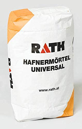 25 kg Rath Hafnermörtel Universal Schamottmörtel Feuerungsmörtel 1100 C